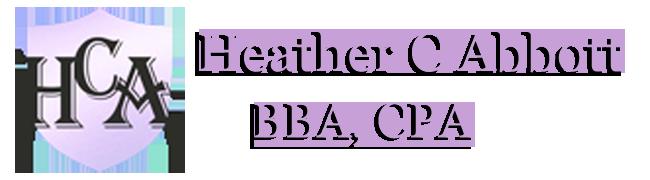 Heather C Abbott BBA CPA Logo